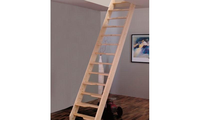 Деревянная лестница М-011у