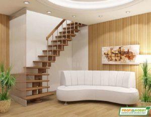 Деревянная лестница К008м