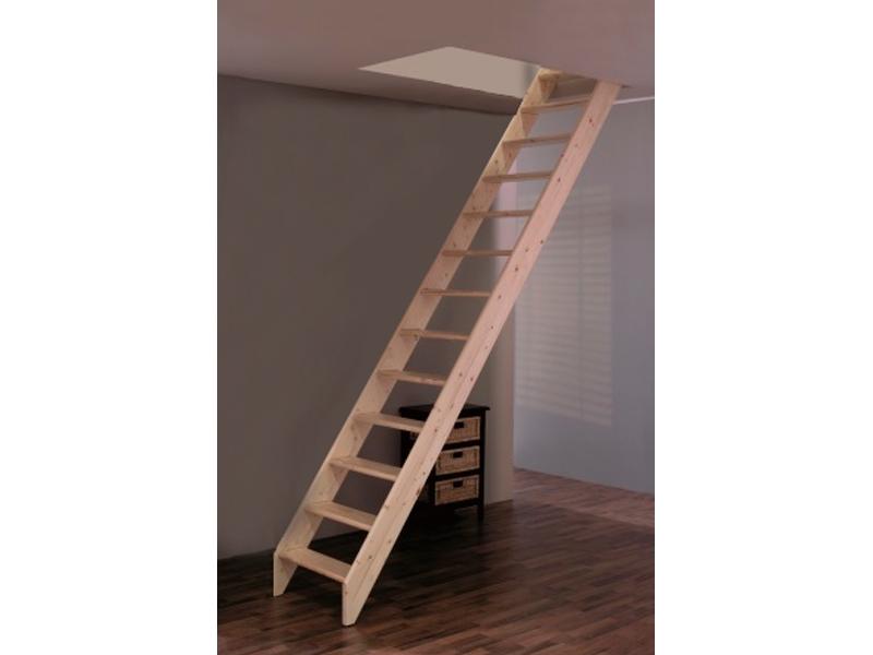 Деревянная лестница М-013у